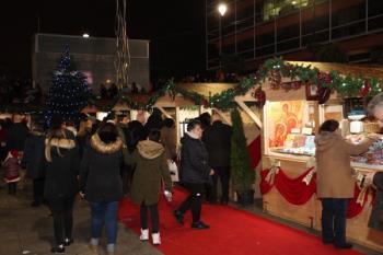 La plaza de la Constitución y la plaza de España acogerán los puestos navideños a partir del próximo 4 de diciembre