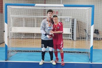 Javier Lafuente y Raúl Sánchez son el futuro del fútbol sala madrileño