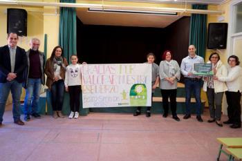 """El colegio público Beato Simón de Rojas ha sido galardonado en la Campaña """"Los Peque Recicladores"""""""