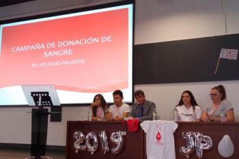La Campaña del Maratón de Donación de Sangre ha ganado el Premio de Innovación educativa de Sanse