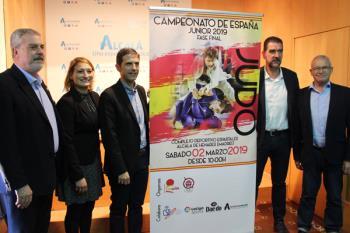 La fase final del Campeonato de España Junior 2019 de Judo será en el Complejo Deportivo Espartales