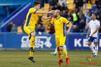 El Alcorcón y el Tenerife terminaron con empate a uno tras dos goles de penalti