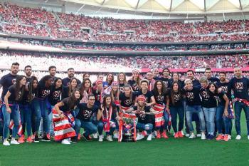 Además, Lola, Meseguer, Jenni Hermoso, Amanda y Andrea Falcón disputarán el Mundial