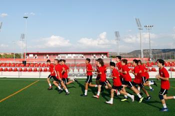 Las colchoneras han estrenado el nuevo Centro Deportivo Wanda Alcalá de Henares
