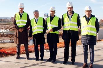Miguel Ángel Gil y Enrique Cerezo han visitado las obras de Alcalá de Henares