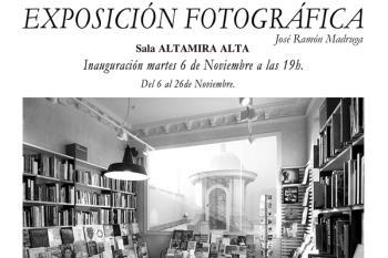 La Sala Altamira, recoge la magnífica exposición de fotografías sobre diversas librerías del mundo