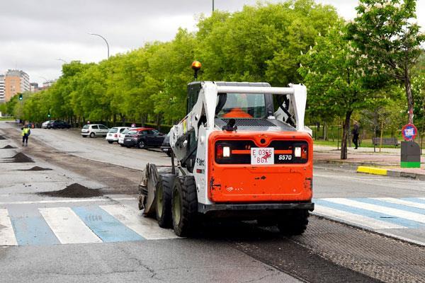 El Ayuntamiento de Móstoles finaliza el Plan de Asfaltado 2019
