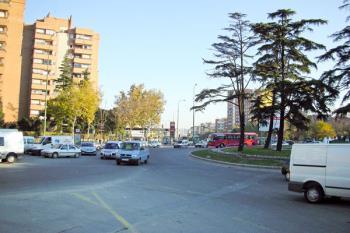 """Se van a tomar medidas """"a corto plazo"""" para reorganizar el tráfico con el fin de reducir la contaminación en la zona más castigada de la ciudad"""
