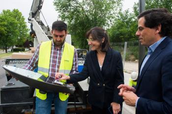 Con este nuevo alumbrado se reducirá de manera significativa el consumo eléctricoCon este nuevo alumbrado se reducirá de manera significativa el consumo eléctrico