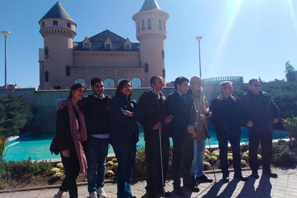 Alcorcón ha presentado una solución de guiado digital para que personas invidentes puedan disfrutar de nuestros parques
