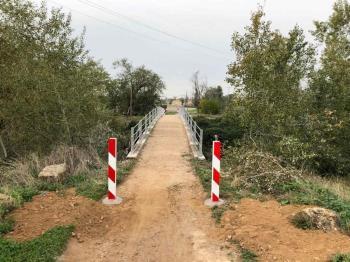 Utilizado a diario por muchos ciclistas, maquinaria agrícola y propietarios de fincas de la zona