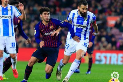 Lee toda la noticia 'El Barça necesitó a Messi para tumbar al Lega'