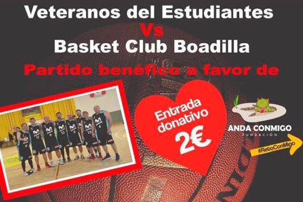 El Basket Club Boadilla se enfrentará a los Veteranos del Estudiantes el 4 de enero