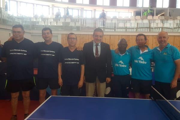 Los Senior del Boadilla Tenis de Mesa, Campeones de España