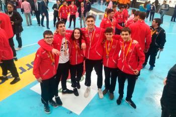 Nuestros deportistas han participado en el torneo nacional disputado en Valladolid