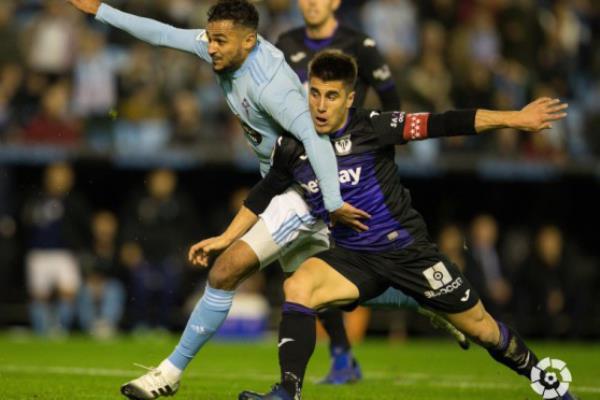 El C.D. Leganés salva un punto ante el Celta de Vigo