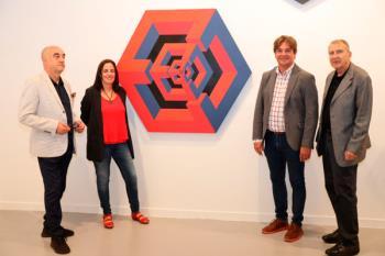 La exposición 'Yturralde Cosmo Caos' estará disponible para la visita en la Sala A
