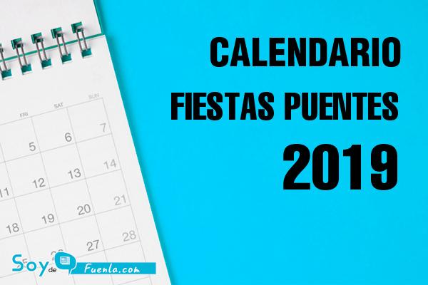 Calendario Laboral Fuenlabrada 2019.El Calendario Laboral De Fuenla Ya Disponible Soyde