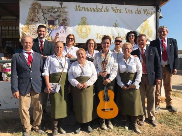 Torrejón viaja al Rocío por el camino de los Taranjales