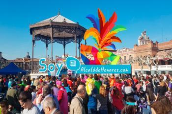 Alcalá de Henares se llenó de música, color y diversión en sus carnavales