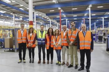 La alcaldesa ha visitado las instalaciones, destacando la incidencia de esta empresa en la ciudad