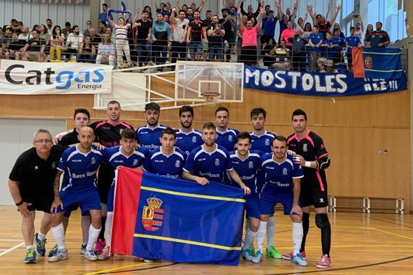 Móstoles vuelve a la Segunda división del fútbol sala nacional