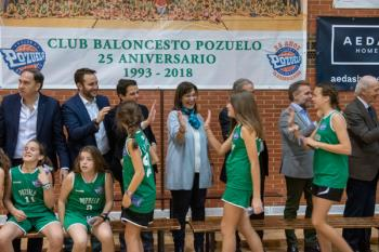 La entidad pozuelera reunió a todos los jugadores, entrenadores y dirigentes del club