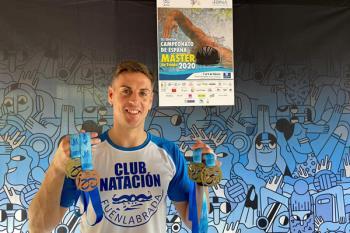 Los nadadores fuenlabreños han sumado varias medallas en el campeonato de Oviedo