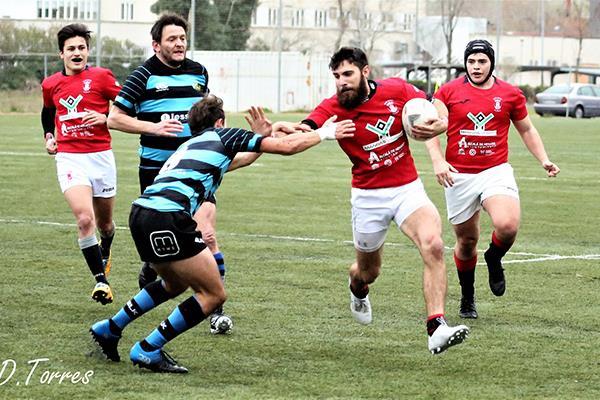 El Club de Rugby Mangas Verdes se impone por la mínima y ya es segundo