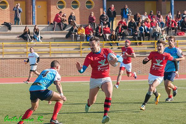 El Club de Rugby Mangas Verdes se pone tercero en la tabla
