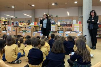 El alumnado del centro ya ha acudido a la Biblioteca Francisco Umbral