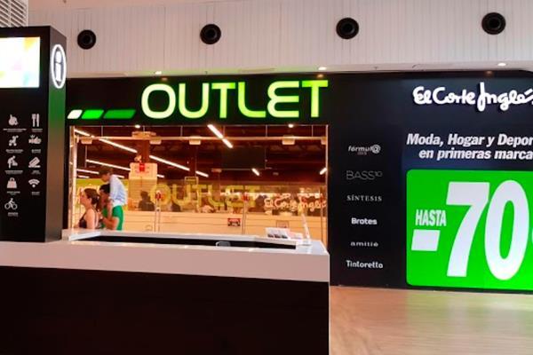 El Corte Inglés cierra su outlet de Getafe
