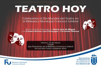 La Biblioteca Municipal Francisco Umbral acoge esta actividad el 27 de marzo