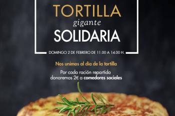 El centro comercial cocinará una tortilla gigante y, por cada pincho, donará 2 euros al comedor social de la ciudad
