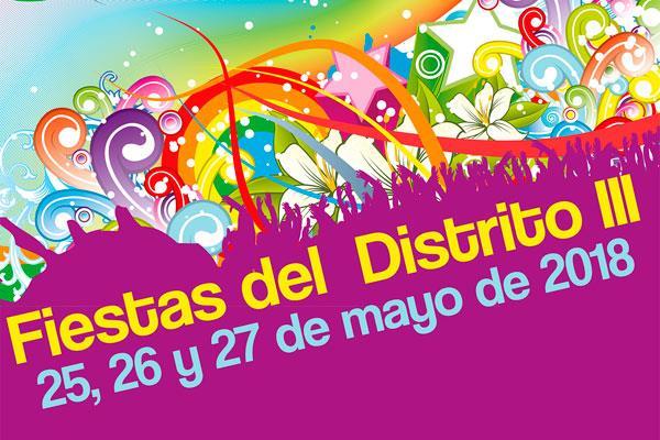 El Distrito III en fiestas, del 25 al 27 de mayo