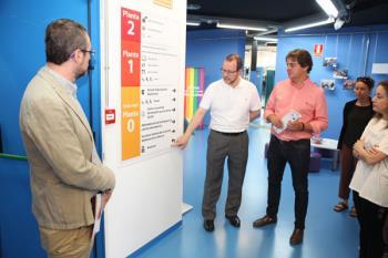 Se ha dota de equipamiento que mejorará la accesibilidad a las instalaciones y servicios