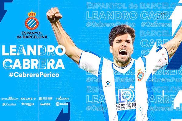 El Espanyol se lleva a Leandro Cabrera a golpe de cláusula