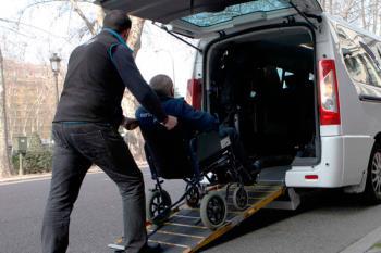 Este servicio de transporte público está destinado a personas con movilidad reducida