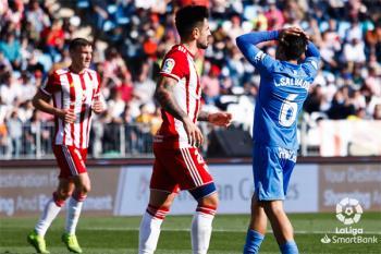Los de 'Mere' Hermoso sacaron un valioso empate de su visita al Almería