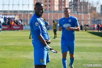 El delantero anotó dos goles en la victoria azulona contra el Rápido de Bouzas