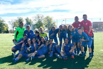 El equipo senior ganó su primer partido de la temporada, y el juvenil se impuso al Racing Calypso en la liga