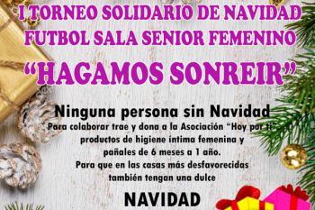 Bajo el lema 'Hagamos sonreír', se disputará el 22 de diciembre en el Polideportivo de La Solidaridad