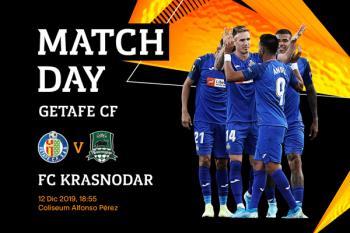 Los de Bordalás se la juegan frente al Krasnodar en el Coliseum (18:55 horas)