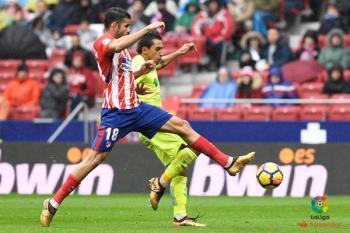 Los de Bordalás realizaron un gran inicio de partido en donde pudieron tomar ventaja en el marcador. El Atleti, con Diego Costa como protagonista, no perdonó