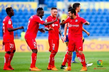 Un gol de Ángel en los últimos minutos hizo queel Getafe consiguiese la última plaza de la Europa League