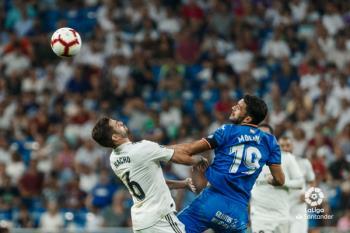 Los de José Bordalás cayeron por 2 a 0 en el debut oficial en el Bernabéu