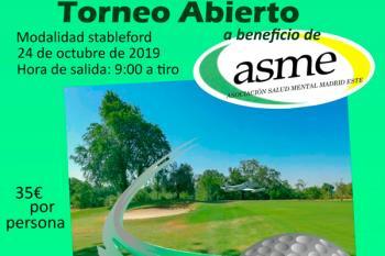 Torrejón albergará un torneo en beneficio de la Asociación de Salud Mental Este (ASME)