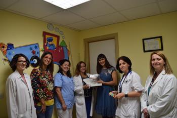 """La IV edición de la Semana de Lactancia Materna también ha contado con talleres, dibujos, """"lluvias de gotas"""" o el #hilomáslácteodelmundo"""