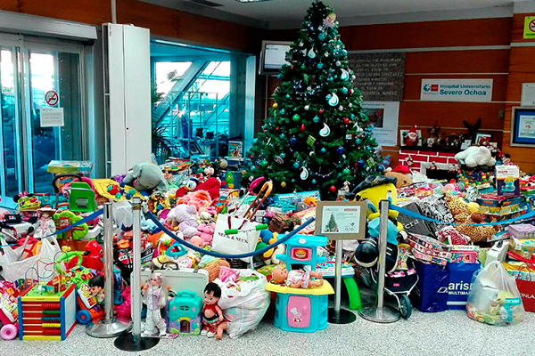 El Hospital leganense bate su récord de recogida de juguetes y los repartirá a niños de toda España