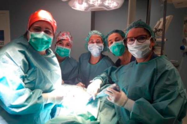 Consiste en una cirugía radioguiada para la localización de lesiones ocultas, llevada a cabo gracias a varios departamentos del hospital